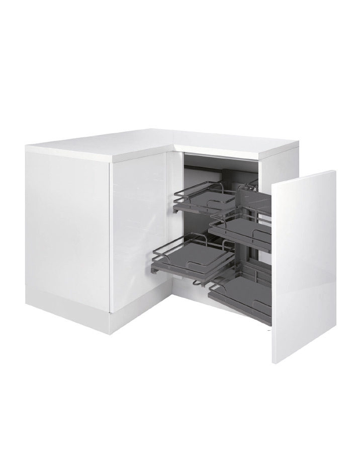 """Plus"" pull-out unit (corner base unit)"