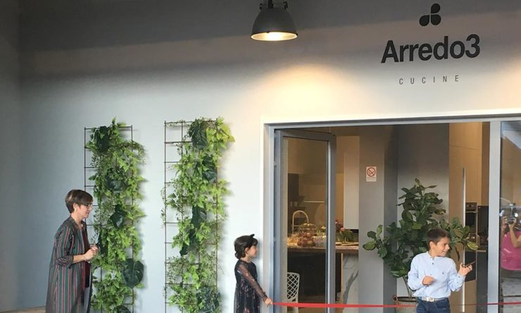 A new Arredo3 store opens in Genoa