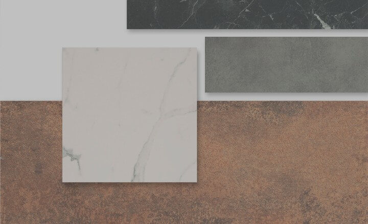 Materials for countertops
