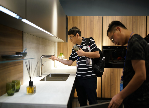 Great success for Arredo3 at Kitchen & Bath 2019 China - 7