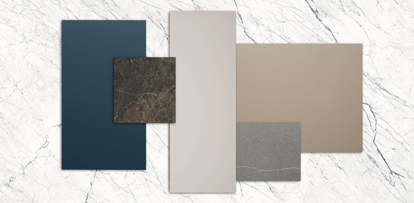 Trends in materials for 2020: the kitchen gets a new look in Laminam and glass