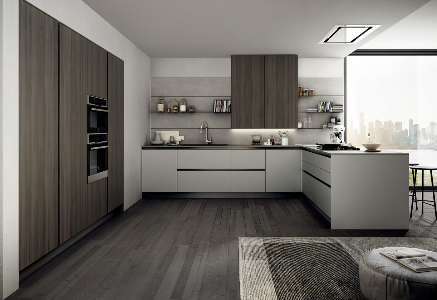 New finishes and compositions for Cloe by Arredo3, featuring versatility - 3