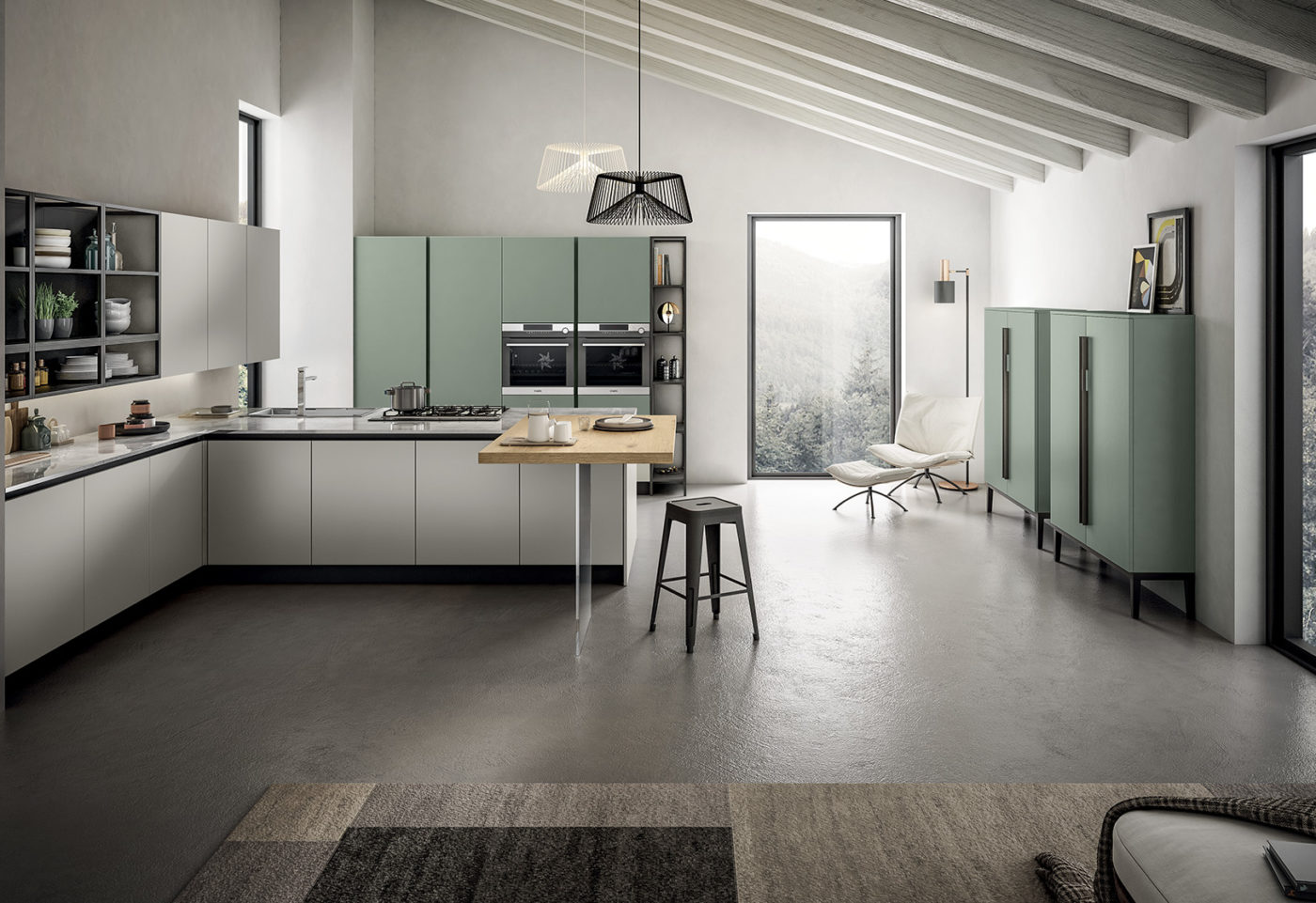 New finishes and compositions for Cloe by Arredo3, featuring versatility - 4
