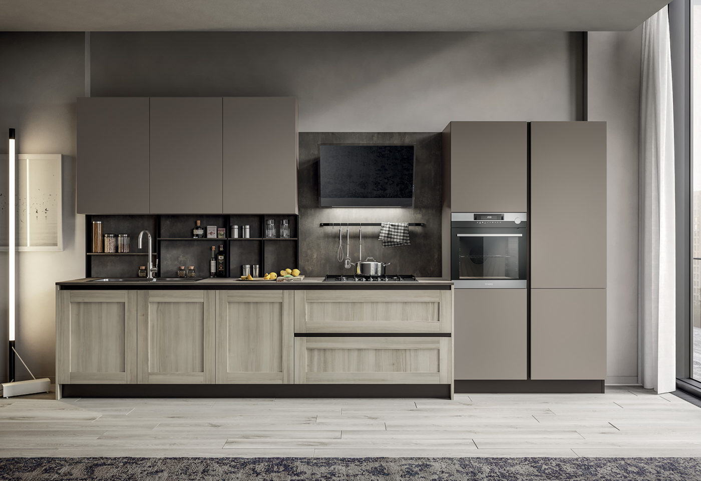 New finishes and compositions for Cloe by Arredo3, featuring versatility - 5