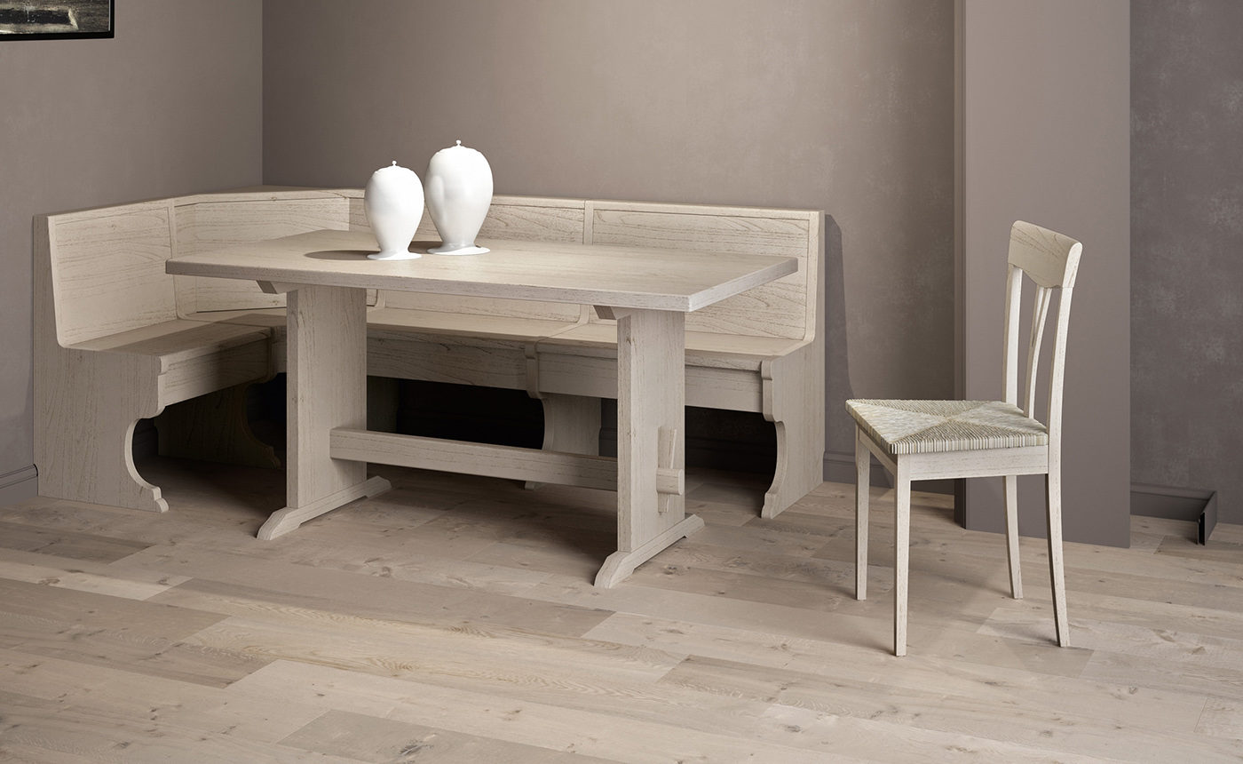 Table and bench Fratino
