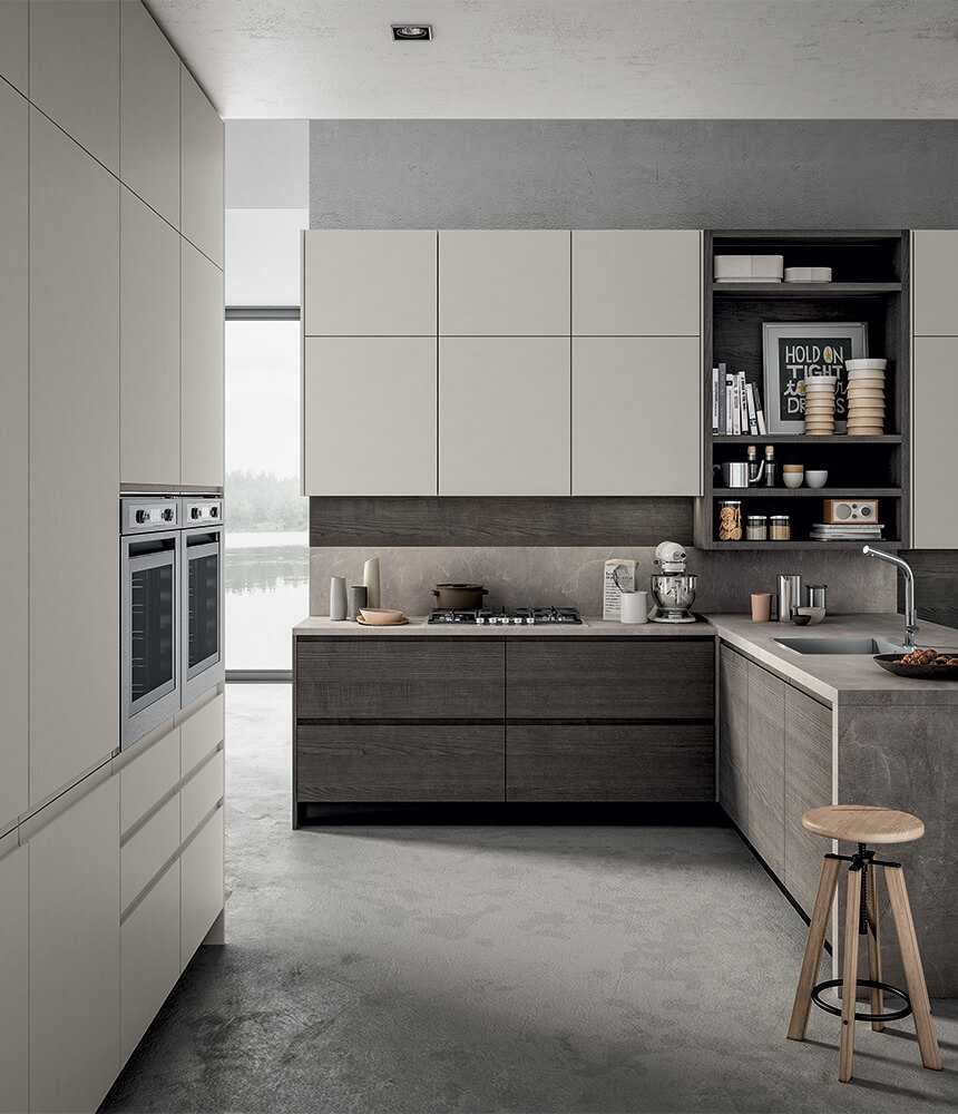 Contemporary And Versatile Modern Kitchen Wega Arredo3