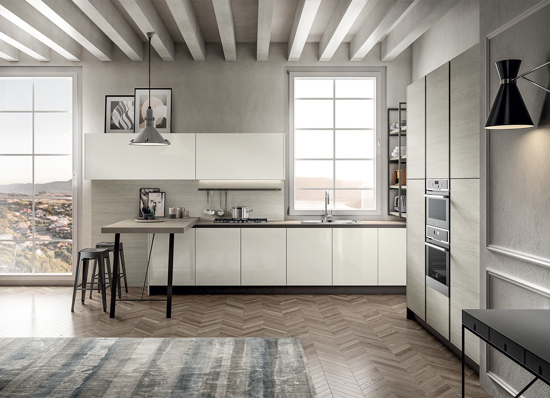 Functional and modern designer kitchen - Cloe - Arredo3