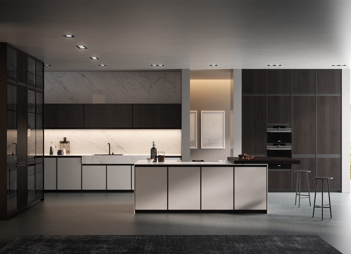 Modern designer kitchen - Kronos - Arredo3