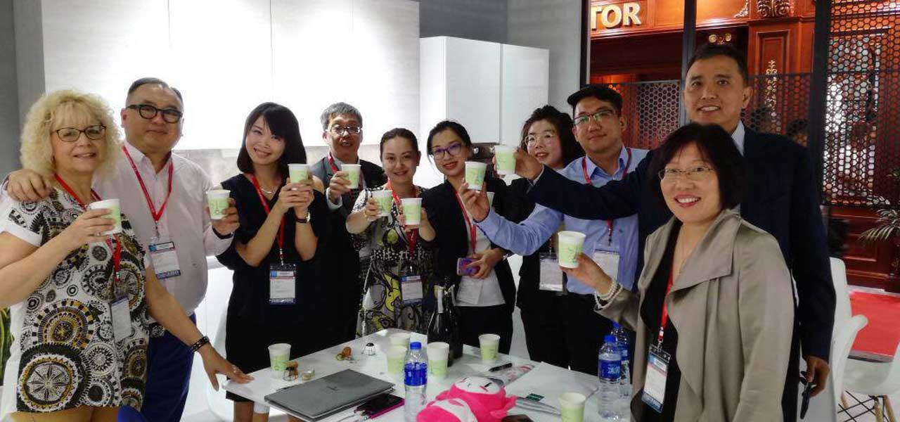 Our first fair in China? A success!
