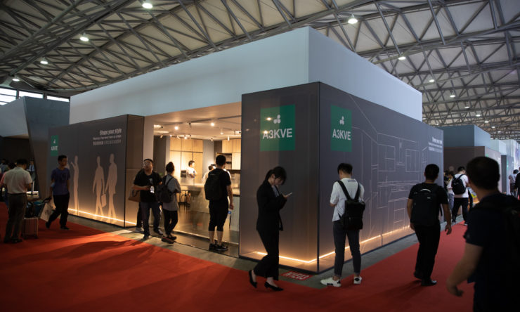 Great success for Arredo3 at Kitchen & Bath 2019 China