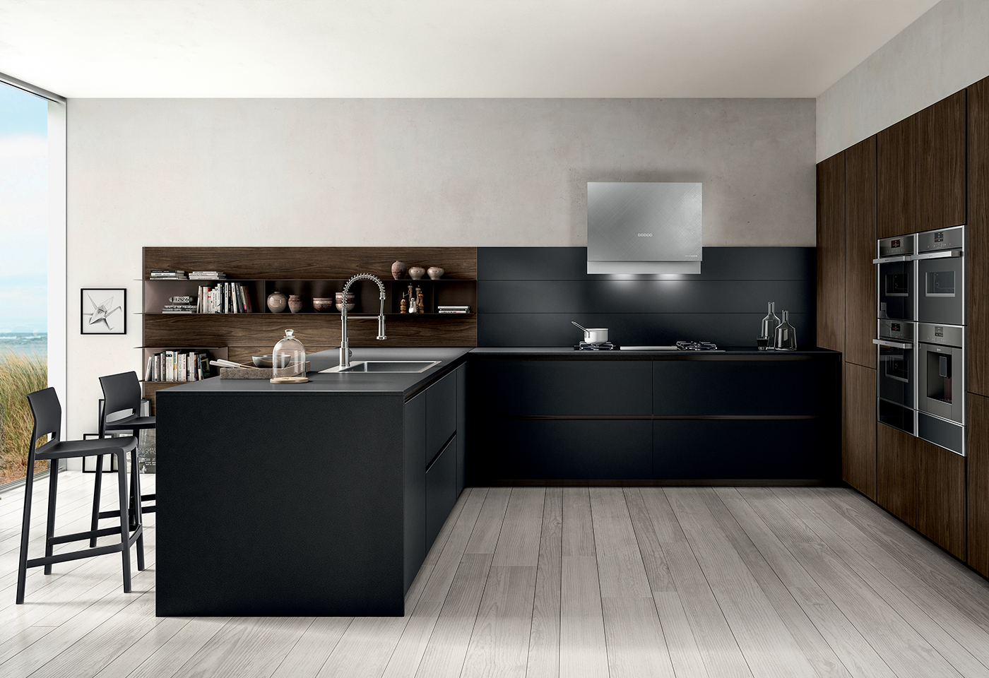 Zetasei by Arredo3, the exemplary contemporary kitchen