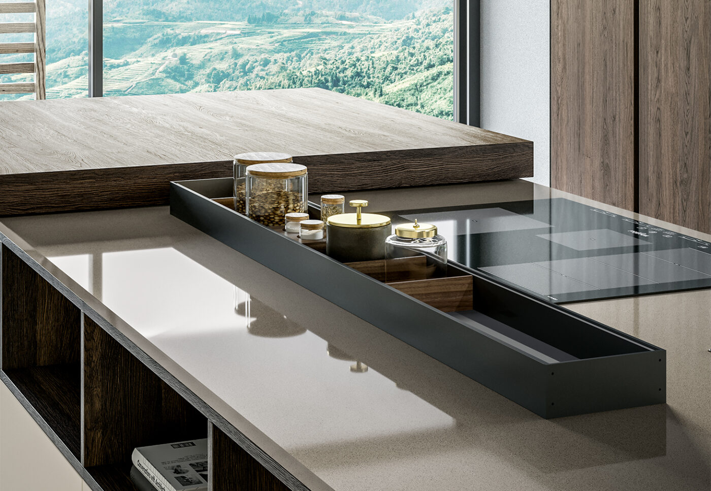 Modus: equipped channels for the Arredo3 kitchen - 3