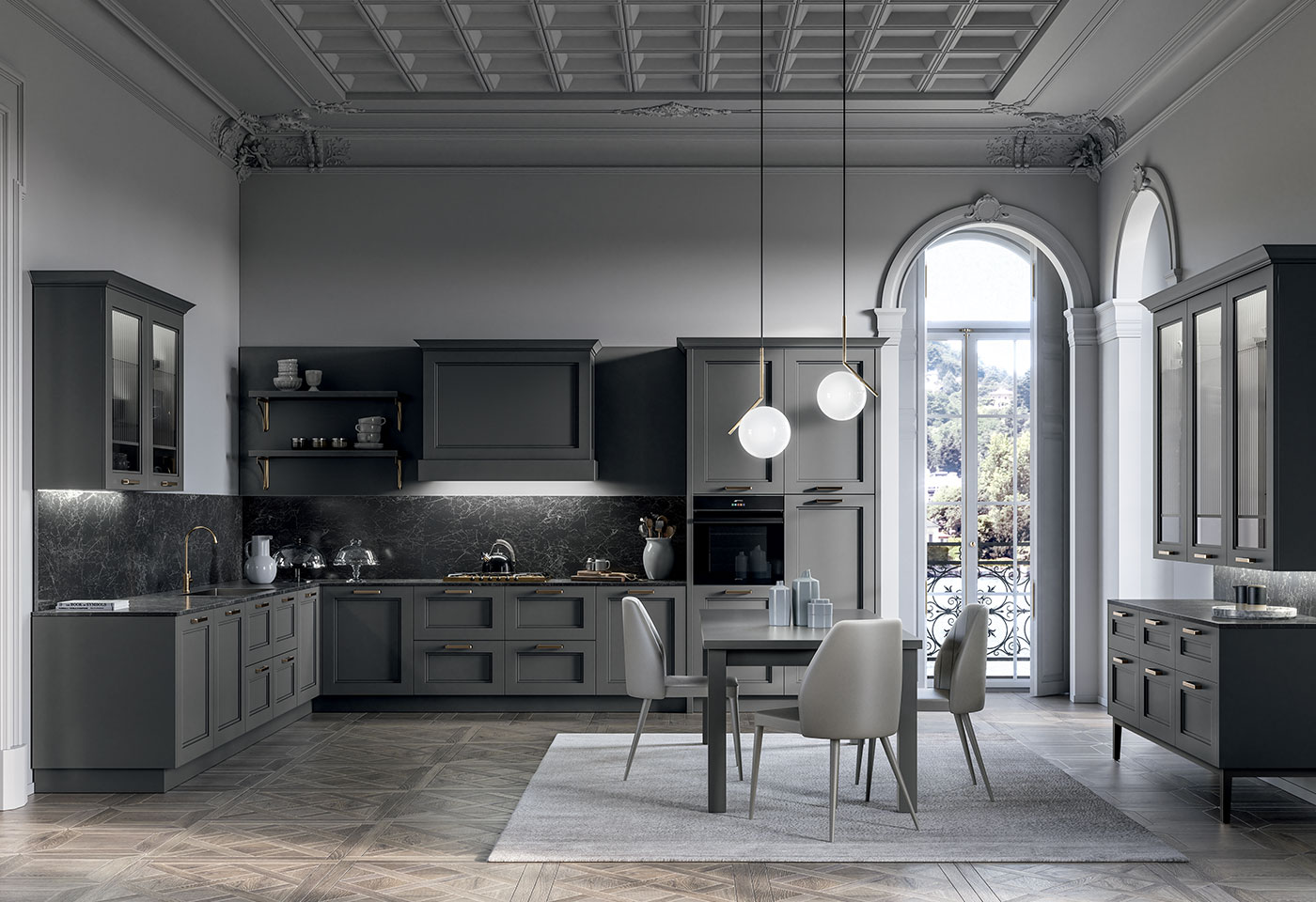 Contemporary and modern kitchen - Meg - Arredo3