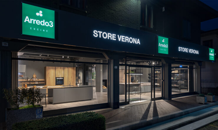The first Arredo3 Store in Veneto opens in Verona !