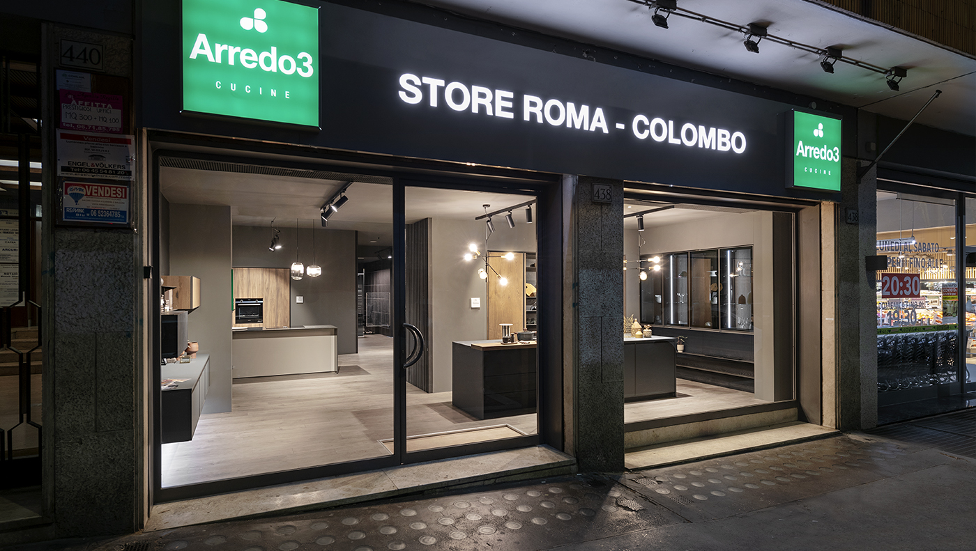 Arredo3 doubles up and opens a new store in Rome!
