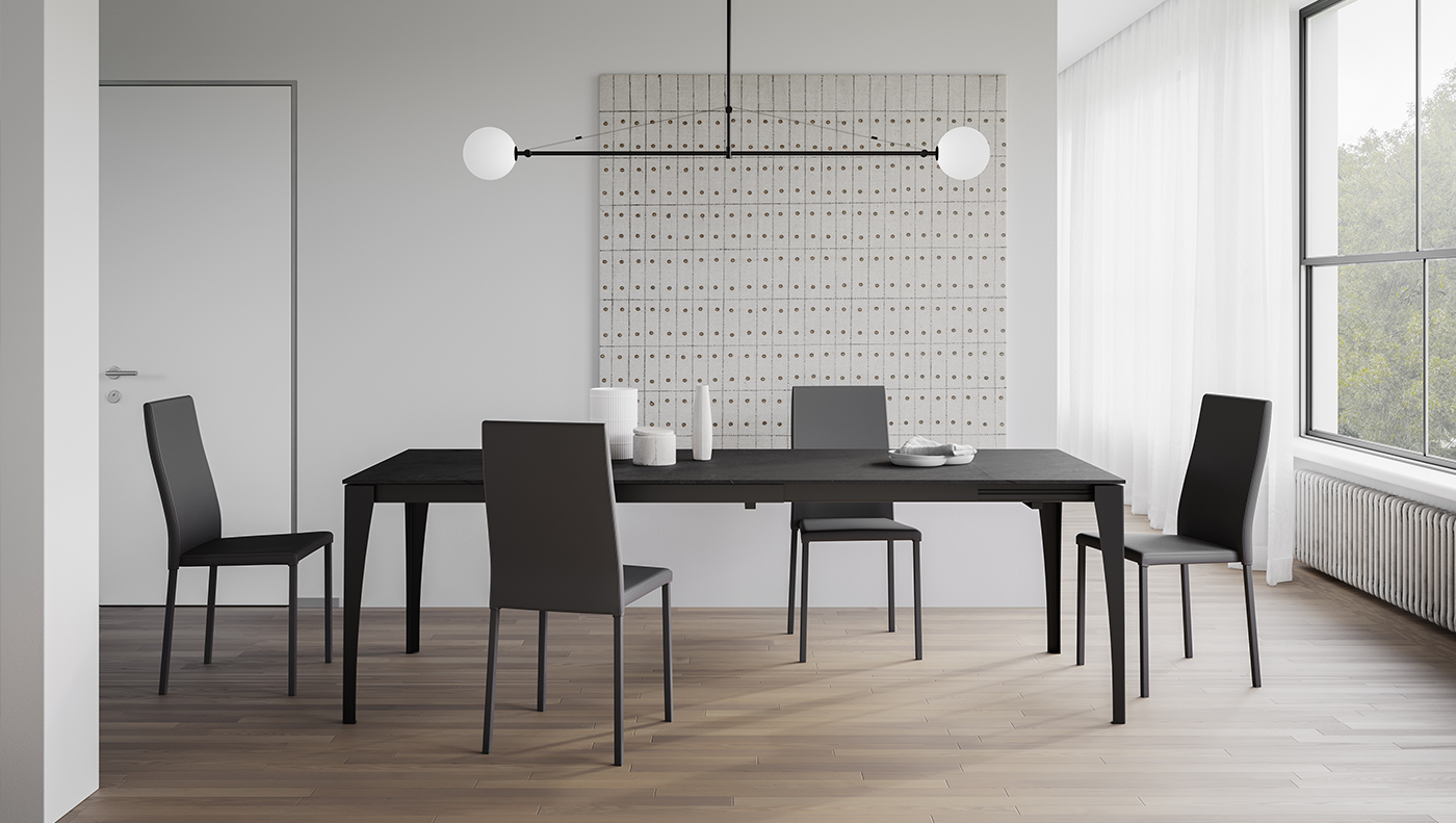 Personalisation, stylishness and functionality: Arredo3 presents its new catalogue of tables and chairs