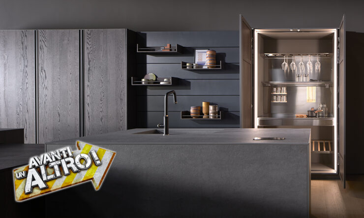 """Arredo3 appears on """"Avanti un altro"""": aired on Canale 5 from the 25 April to 1 May"""