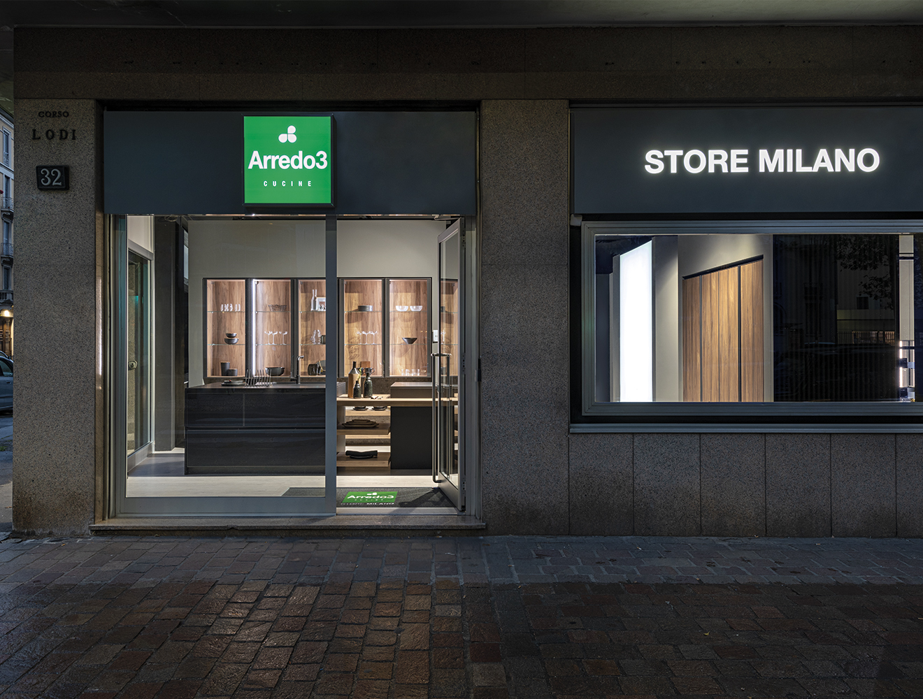 The second Arredo3 store opens in Milan!